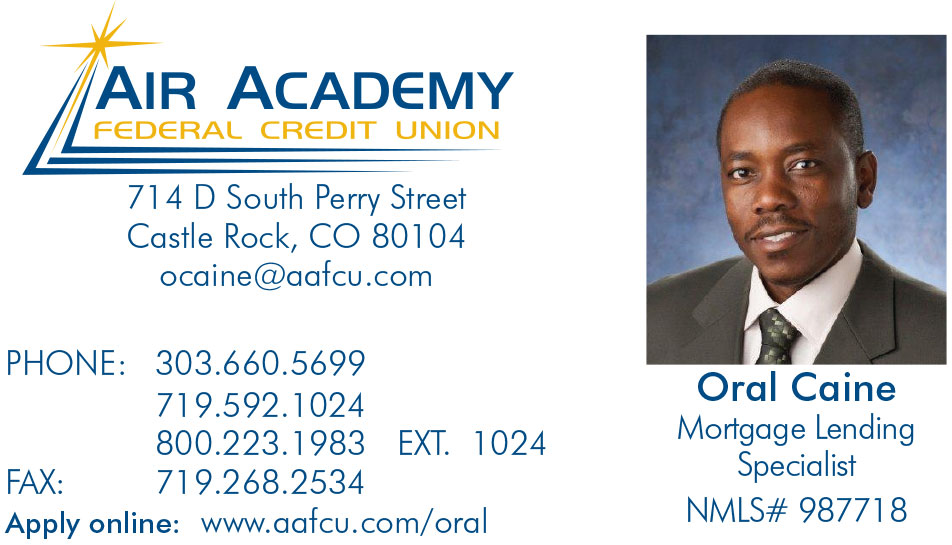 Air Academy Federal Credit Union | Oral Caine