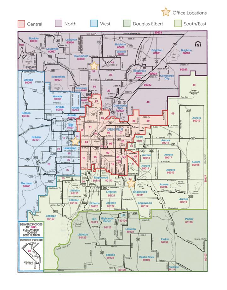 DMAR District Map
