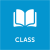 Book with text 'class'